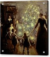 Silent Night Acrylic Print by Viggo Johansen