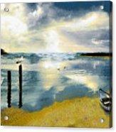 Silent Ocean Acrylic Print