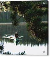Silent Paddler Acrylic Print