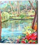 Silent Pond Acrylic Print