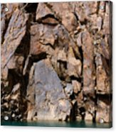 Silent Rocks Acrylic Print