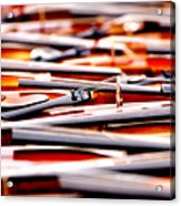 Too Much Violins In Film Acrylic Print