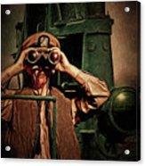 Silent Warriors Of World War 2 Oil Acrylic Print