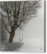 Silently Swinging Acrylic Print