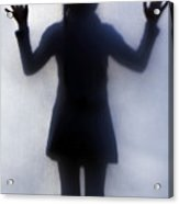 Silhouette Of A Girl Acrylic Print by Joana Kruse