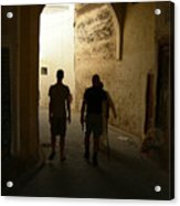 Silhouettes In Fez Acrylic Print