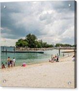Siloso Beach Acrylic Print