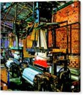 Silk Looms Acrylic Print