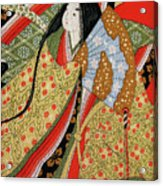 Silk Painting Acrylic Print
