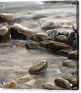Silk River Acrylic Print