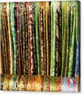 Silk Scarves For Sale Acrylic Print