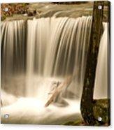 Silken Waterfall Acrylic Print