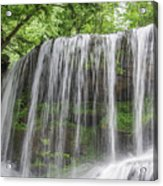 Silky Waterfalls Acrylic Print