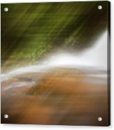 Silky Magic Dreamscape  Acrylic Print