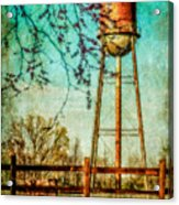 Siluria Cotton Mill Acrylic Print