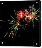 Silute 500. Lithuania. Fireworks 01 Acrylic Print