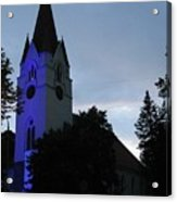 Silute Lutheran Evangelic Church Lithuania 01 Acrylic Print