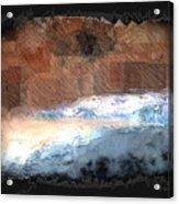 Silver Beach  Acrylic Print