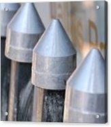 Silver Bullets Acrylic Print