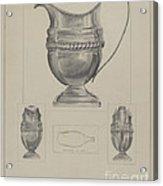 Silver Creamer Acrylic Print