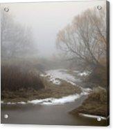 Silver Creek In Elberton Acrylic Print
