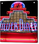 Silver Diner Acrylic Print