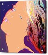 Silver Moon Acrylic Print