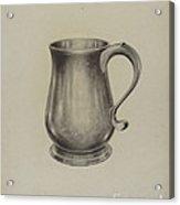 Silver Mug Acrylic Print