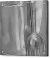 Silver Acrylic Print
