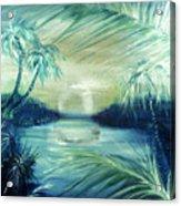 Silver Pond  Acrylic Print