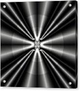 Silver Rays 1 Acrylic Print