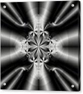 Silver Rays 2 Acrylic Print