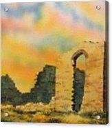 Silver Reef Ghost Town Utah Acrylic Print