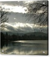 Silver River Acrylic Print