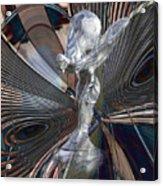 Silver Shadow Acrylic Print