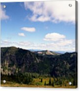 Silver Star Mountain Top Acrylic Print