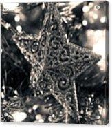 Silver Star Acrylic Print