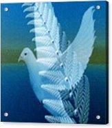 Silver-wing Acrylic Print