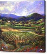 Silverado Valley Blooms Acrylic Print