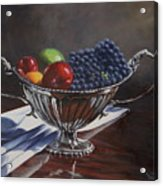 Silvered Fruit Acrylic Print
