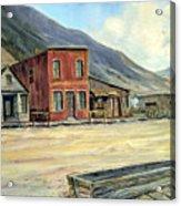 Silverton Colorado Acrylic Print by Evelyne Boynton Grierson