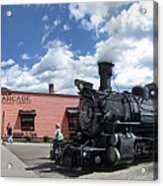 Silverton Durango Steam Train - Silverton Colorado Acrylic Print