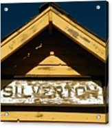 Silverton Train Station Acrylic Print
