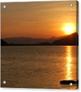 Silverwood Sunrise Acrylic Print