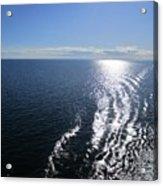 Silvery Ocean Acrylic Print