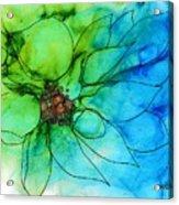 Simply Floral Acrylic Print