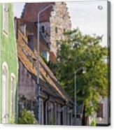 Simrishamn Street Scene Acrylic Print