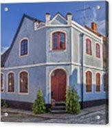 Simrishamn Townhouse Acrylic Print