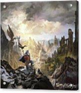 Simurgh Call Of The Dragonlord Acrylic Print