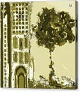 Sinagoga Acrylic Print by Emna Bonano